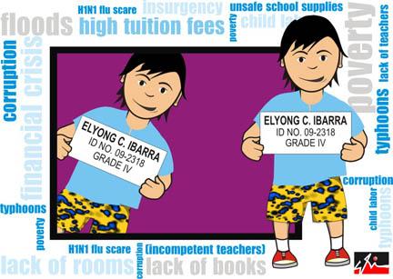 Si Elyong, nagpapakuha ng school ID.