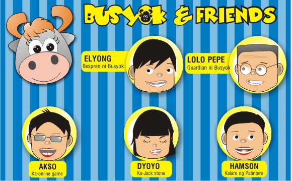 busyok and friends