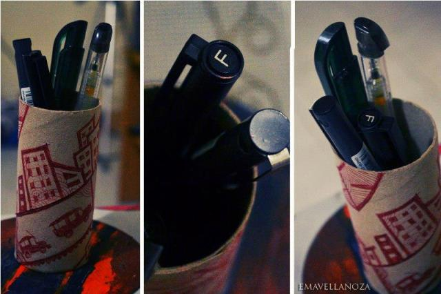 Eco-friendly pen holder