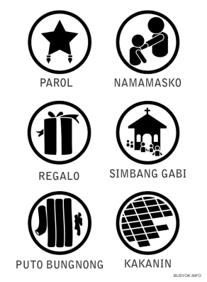 Christmas, Kakanin, puto bungbong, pagmamano, parol, pinoy christmas, paskong pinoy